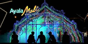 Quezon City Lights Up With the Vertis Northern Lights