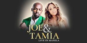 Joe & Tamia Live in Manila