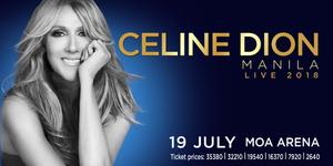Celine Dion Live 2018 in Manila