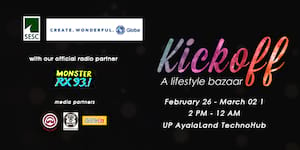 Start your year right with KICKOFF: A Lifestyle Bazaar