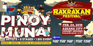 Rakrakan Festival Returns this Year with 120 OPM Artists