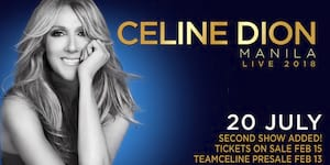 Celine Dion Concert is Sold Out. Second Show Added