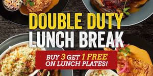 Double Duty Lunch Breaks at TGIFridays