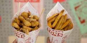 Pompoms: Redefining the French Fry by Cooking it Thrice