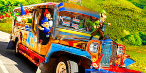 Pinoy Jeepney Featured in Official Sherlock Gnomes Poster!