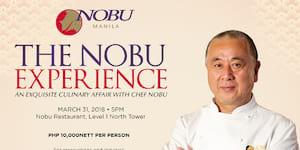 Chef Nobu Matsuhisa Helms the Nobu Experience - A One Night Culinary Affair at Nobu Manila, City of Dreams