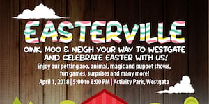 Oink, Moo & Neigh your way to Easter at Westgate
