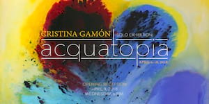 Spanish Painter Cristina Gamón Holds First Solo Exhibit in Asia