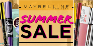 Sun-Proof Your Look with Maybelline's Summer Sale!
