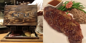 Cru Steakhouse Lets Adventurous Eaters Test their Chefs in 'Mystery Box Challenge'