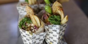 2nd Falafel Yo opens with 1000 free falafels!