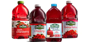 No-Cook Old Orchard Cranberry Juice Cooling Summer Treats