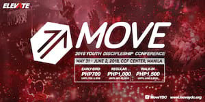 Make a difference in your generation at the MOVE Youth Discipleship Conference 2018