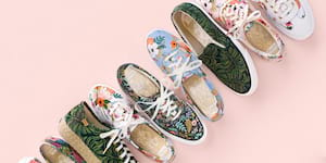 Keds® Launches An Expanded Third Collection with Rifle Paper Co.