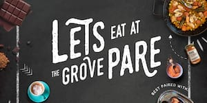 Let's Eat at The Grove Pare!