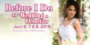 The 33rd Before I Do Wedding & Debut Fair