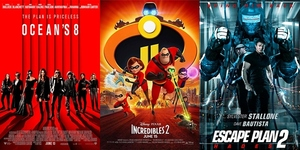 New Movies This Week: Incredibles 2, Escape Plan 2: Hades and more!