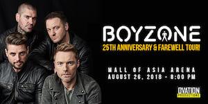 Irish boy band Boyzone is going on their 25th Anniversary Tour