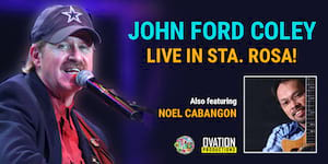 John Ford Coley Live in Sta. Rosa