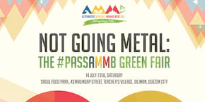 Not Going Metal: The #PassAMMB Green Fair