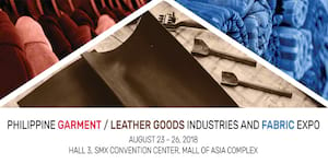 1st PHL Garment and Leather Goods Industries and Fabric Expo Set