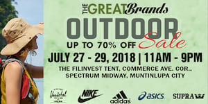 The Great Brands Outdoor Sale
