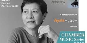 The Great Dame of Elegant Pianism Carmencita Sipin Aspiras to perform at the Ayala Museum