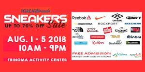 The Great Brands Sneaker Sale