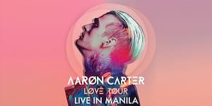 Aaron Carter LØVË Tour Live in Manila