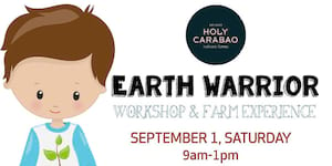 Holy Carabao - Earth Warrior: Workshop and Farm Experience