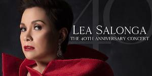 Lea Salonga: The 40th Anniversary Concert