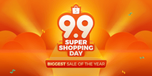 Shopee 9.9 Super Shopping Day is Back: The Biggest Annual Shopping Event in Southeast Asia and Taiwan