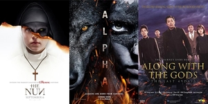 New Movies This Week; The Nun, Alpha and more!