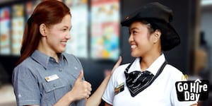 "McDonald's Philippines Launches ""Go Hire Day"""