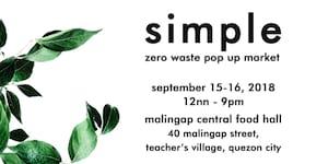 Simple: Zero Waste Pop Up Market