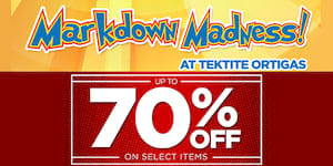 Enjoy up to 70% Discount on Sneakers and more at Markdown Madness