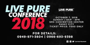 Live Pure Conference 2018
