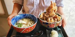 Eat of the Week: This Tempura Lunch Special Makes You Carb-Happy with Rice and Udon