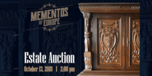 A Curated Auction Dedicated to Mementos of Europe