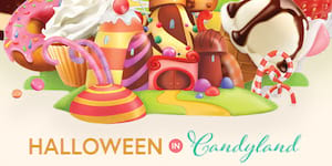 Halloween in Candyland