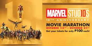 SM Cinema and Marvel Studios Unveils a Marvel Movie Marathon at only P100 per Movie!