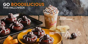 Tim 'N Treat for Halloween at Tim Hortons