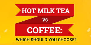Hot Milk Tea vs Coffee: Which Should You Choose?
