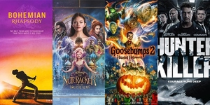 New Movies This Week: Bohemian Rhapsody, The Nutcracker and the Four Realms and more!