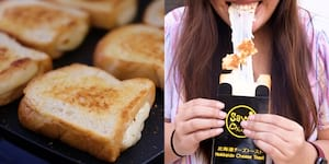 Bangkok's Original Hokkaido Cheese Toast, Say Chiizu, is now in Manila!