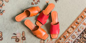 Local Shoe Brand Annie & Lori offers modern Bakya in New Collection