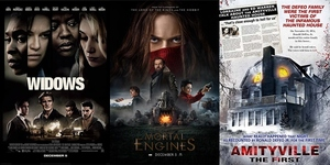 New Movies This Week: Widows, Mortal Engines and more!