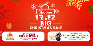 Get Ready for the Grand Finale of Shopee 12.12 Big Christmas Sale