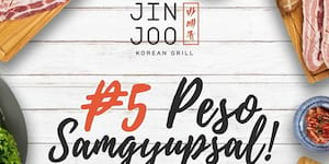 Celebrate with Jin Joo and Get Your Five-Peso Samgyupsal!