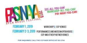 Pasinaya 2019: Open House Festival